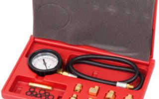 Манометр для измерения давления масла