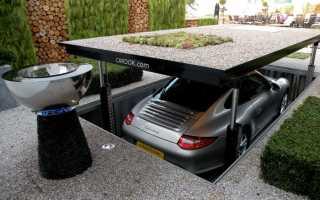 Как сделать площадку под машину на даче