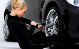 Как менять колеса на машине местами схема
