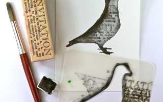 Как сделать трафарет рисунка своими руками