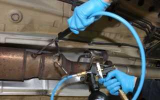Как почистить катализатор не снимая с машины