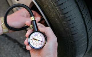 Когда правильно проверять давление в шинах