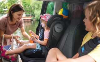 Крепление детского кресла в автомобиле