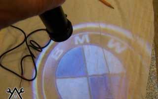 Пленки для проекции логотипа в двери