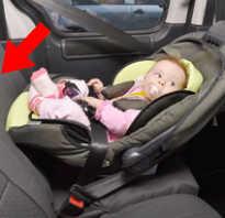 Как правильно пристегнуть автолюльку