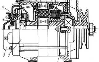 Как подключить щетки генератора