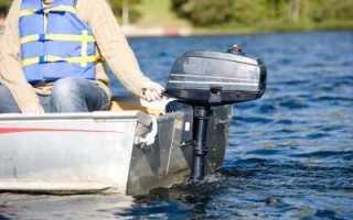 Поменять масло в редукторе лодочного мотора