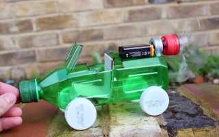 Как сделать машину из пластика