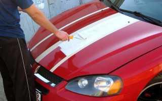 Как покрасить машину валиком