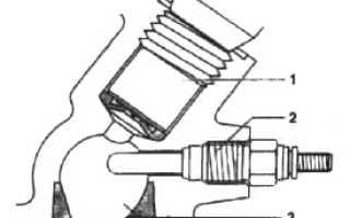 Пусковое устройство дизельного двигателя