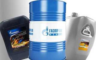 Синтетическое моторное масло газпромнефть