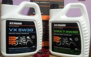 Моторное масло ксенум 5w30
