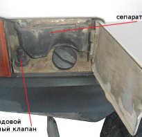 Клапан бензобака ваз 2109
