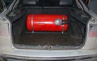 Установка оборудования на метане для автомобилей