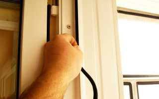 Резиновый уплотнитель для пластиковых дверей
