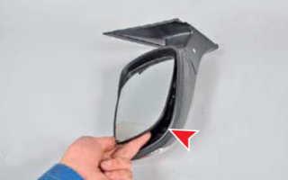 Крышка зеркала заднего вида хендай солярис
