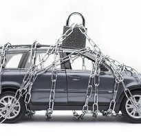 Машина в аресте у приставов