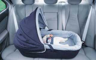 Люлька в машину для новорожденных фото