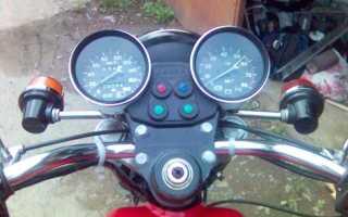 Установка тахометра на мотоцикл урал
