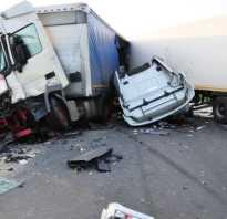 Классификация видов транспортных происшествий