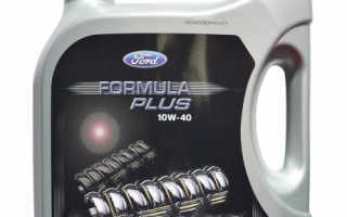 Масло форд формула 10w 40
