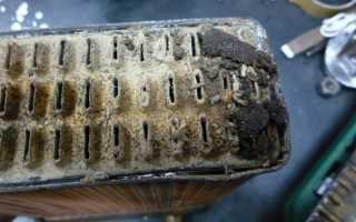 Как прочистить радиатор охлаждения двигателя