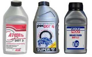 Можно ли смешивать тормозную жидкость разных производителей