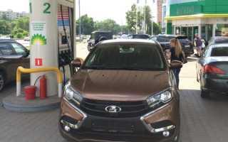 Расход бензина лада икс рей