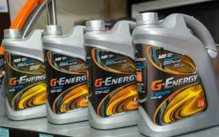 Масло g energy 5w40 отзывы