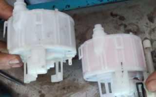Когда меняют топливный фильтр на хендай солярис