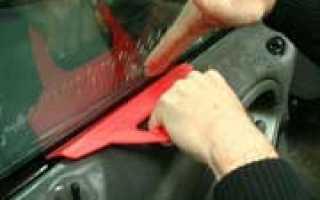 Как тонировать машину своими руками ваз