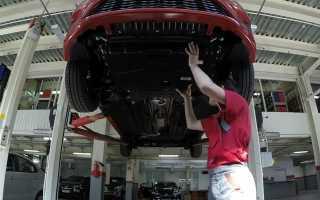 Крепление защиты двигателя киа рио 3