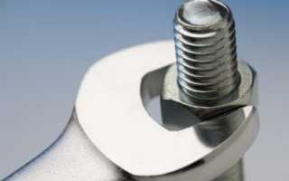 Моменты затяжки резьбовых соединений двигателя
