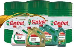 Машинное масло кастрол 5w30
