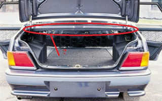 Кронштейн крышки багажника ваз 2115