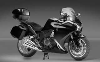 Мотоцикл с автоматической коробкой передач модели
