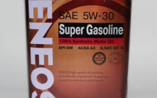 Масло эниос 5w30 синтетика отзывы