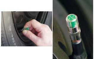 Контроль давления в шинах автомобиля