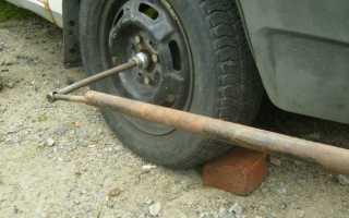 Как правильно закрутить гайку ступицы