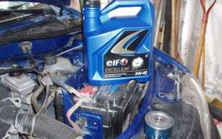 Синтетическое масло elf 5w40