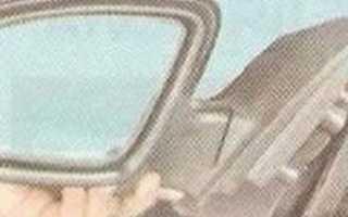 Как разобрать боковое зеркало на шевроле круз
