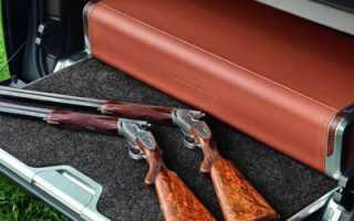 Перевозка огнестрельного оружия в автомобиле