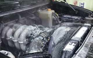 Как помыть двигатель автомобиля самостоятельно