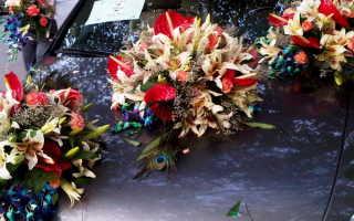 Как прикрепить украшения на свадебную машину
