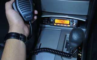 Настройка антенны автомобильной радиостанции