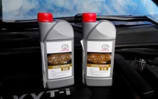 Какое масло лить в гидроусилитель руля тойота