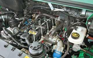 Установка двигателя камминз на газель