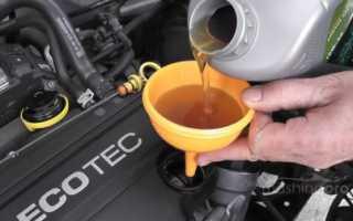 Какое масло нужно заливать в двигатель
