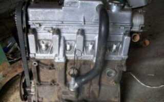 Как снять блок двигателя ваз 2109