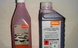 Моторное масло stihl hp